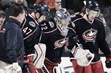 Sergei Bobrovsky no está teniendo suerte con las lesiones | Foto: NHL.com