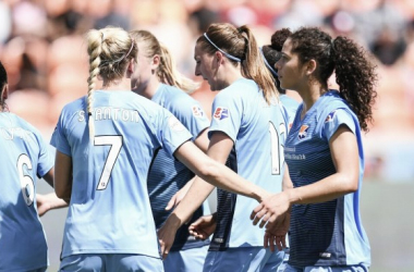 Sky Blue were victorious over the Houston Dash
