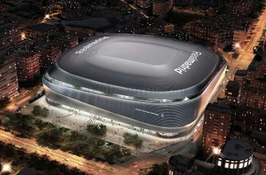 Nuevo Santiago Bernabéu. Fuente: Real Madrid.