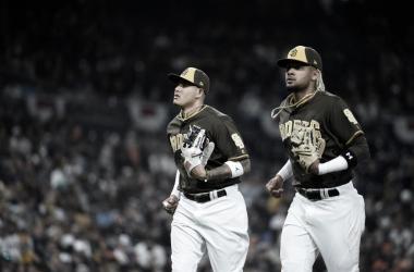 Machado y Tatis con Padres / Foto: Getty Images