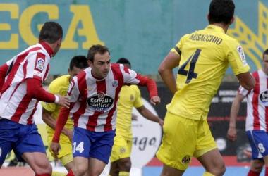 Héctor Font reapareció ante el equipo de sus inicios. | Foto: Óscar Cela