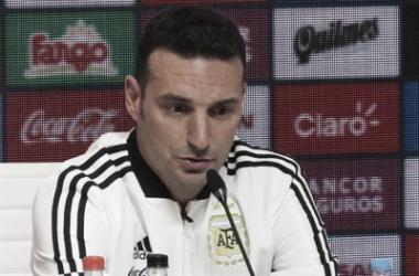 """Lionel Scaloni: """"Siempre me fijé en un fútbol más directo y vertical"""""""