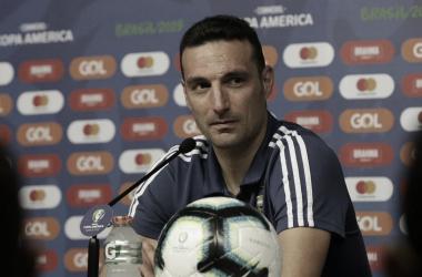 """Lionel Scaloni: """"Hoy demostramos que este grupo de jugadores siente la camiseta como nadie"""""""