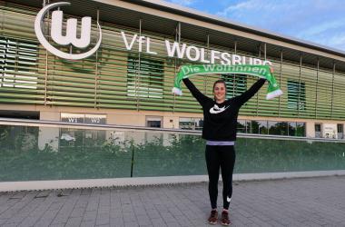 Earps joins the Wolfsburg ranks. Photo: ignite Talent