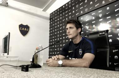 """Guillermo Barros Schelotto: """"Será un partido de ida y vuelta"""" Fuente: Sitio Oficial Boca Juniors"""