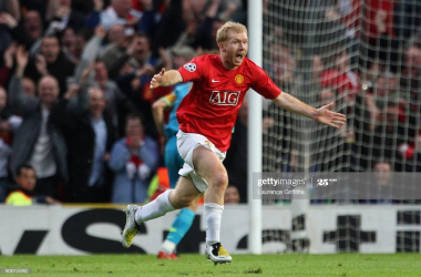OTD in 2008: A great Old Trafford night as Scholes leathers home to beat Barcelona