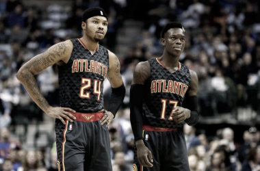 The future of the Atlanta Hawks has entered rebuild mode. Photo: Credit: Tim Heitman-USA TODAY Sports