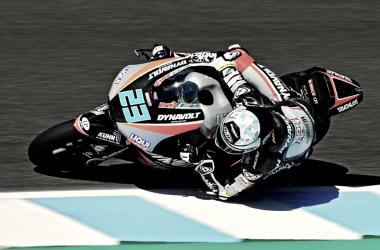 Marcel Schrotter en pista: Foto: Dynavolt Intact GP