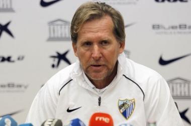 """Bernd Schuster: """"El equipo ha ido a más futbolísticamente, estamos llegando a un nivel bueno"""""""