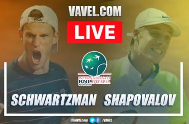 Schwartzman vs Shapovalov highlights: semifinal Roma Masters 2020