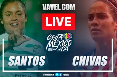 Goals and highlights: Santos 5-4 Chivas in Liga MX Femenil 2021