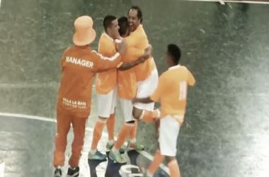 Gol y lesión para Daniel Scioli (Foto: A Dos Toques Futsal)