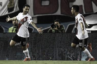 Scocco hizo el gol del último triunfo. (Foto: River Plate Oficial)