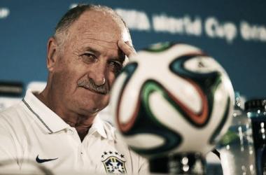 Scolari deu a cara pelo insucesso da derrota (Foto: Ivan Pacheco)