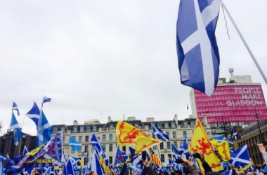 Scots Gather in Pro-Independence Rally