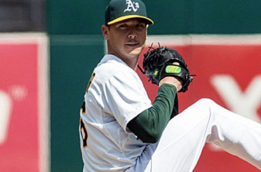 Scott Kazmir pitched a gem Wednesday afternoon for the A's (USATSI)
