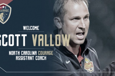 Scott Vallow announced as assistant coach by North Carolina (Source: northcarolinafc.com)