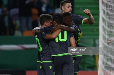 Sporting voltou a vencer na Liga Europa. GettyImages