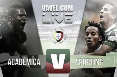 ResultadoAcadémica 1-3 Sporting na Liga NOS 2015