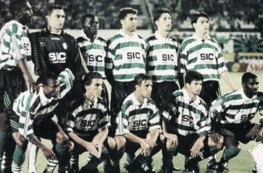 Onze regular de 1995/1996 dos Leões