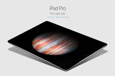 Apple Reveals iPad Pro, iPad mini 4