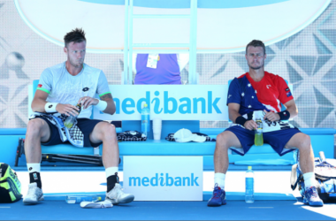 Hewitt's Final Australian Open ends with Doubles loss to Sock and Pospisil