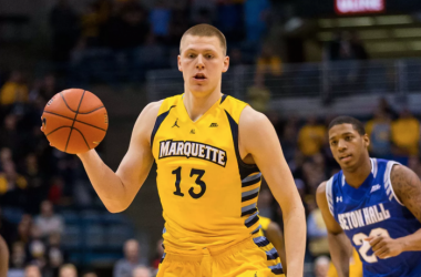Henry Ellenson and Marquette have not performed well in the Big East. Photo: Jeff Hanisch, USA Today Sports.