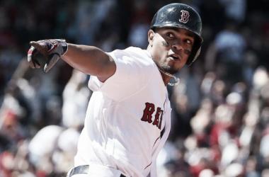 Bogaerts' three-run blast propelled Boston to a win. | AP
