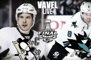 San Jose Sharks defeat the Pittsburgh Penguins in overtime in Game 3 of the Stanley Cup Final (3-2)