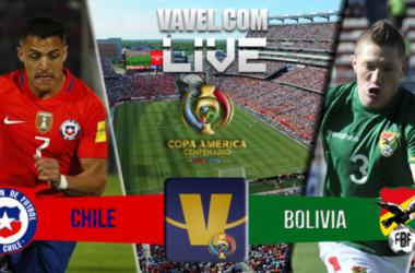 Score Chile - Bolivia in Copa America Centenario (2-1)