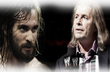 Bret Hart continues his war of words with Seth Rollins (image: joel lampkin)