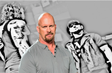 Stone Cold Steve Austin shared his view on the Reigns v Styles feud (image: joel lampkin)