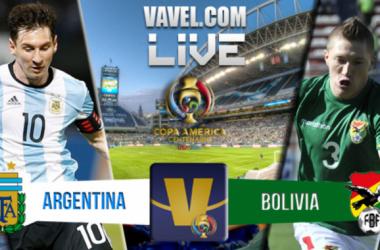 Score Argentina vs Bolivia in Copa America Centenario (3-0)