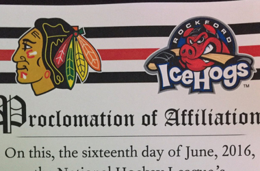 Los Chicago Blackhawks y los Rockford IceHogs refuerzan su unión / Second City Hockey