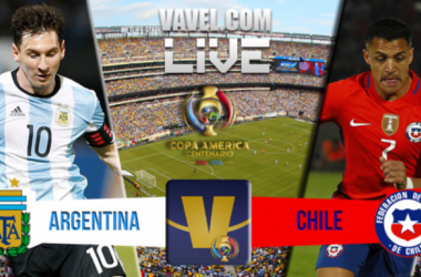Argentina vs Chile Live Updates and Scores of Copa America Centenario Final (0-0)