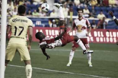 Despite not playing the entire first half, Shawn Wright-Phillips gave the Red Bulls an early lead | Photo: New York Red Bulls