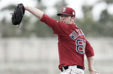 Aaron Wilkerson never received a start with the Red Sox despite an excellent minor league campaign. | Photo: Kelly O'Connor