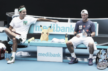 Australian Open Twitter account finds a Pikachu on Rod Laver Arena