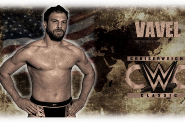 Gulak is hoping to use his drive, focus and determination to win The Cruiserweight Classic (image: Joel Lampkin)
