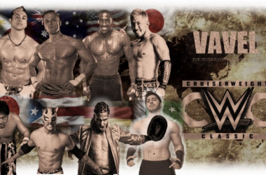 These eight competitors set the bar even higher in The Cruiserweight Classic: Episode Two (image: Joel Lampkin)