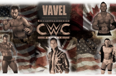 The competitors of The Cruiserweight Classic (image: Joel Lampkin)