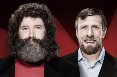 Mick Foley will be speaking to Daniel Bryan live on Monday Night Raw (image: wwe.com)
