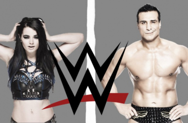 Paige and Alberto Del Rio have both been suspended for 30 Days (image: Joel Lampkin)
