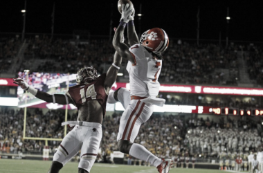 Clemson's Mike Williams skies for a first-quarter touchdown. | Stew Milne - USA Today Sports