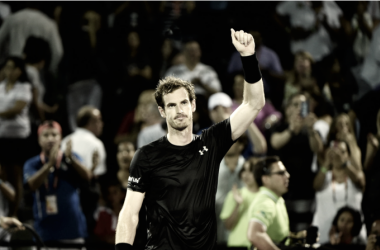 World number one Andy Murray will not compete for his third Miami Open title as a right elbow injury forces him out. Credit: Miami Open