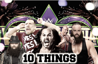 10 things that must happen in WWE before WrestleMania 34 (image: joel lampkin)