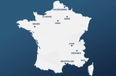 The 9 host cities for the 2019 Women's World Cup | Source: @fff