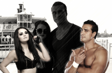 Paige and Del Rio may be no more (image: joel lampkin)