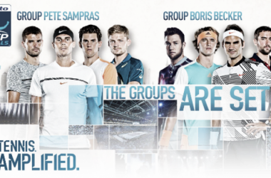 These eight men will be battling it out to call themselves a World Tour Finals champion (ATP World Tour)