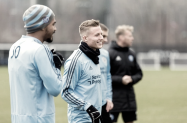 Alex Ring in training this week. | Photo: New York City FC